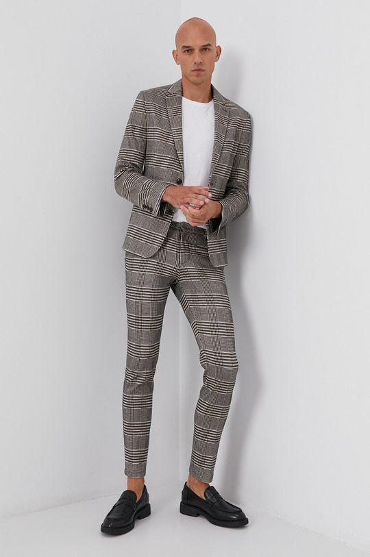 brązowy Drykorn - Spodnie Sight Męski
