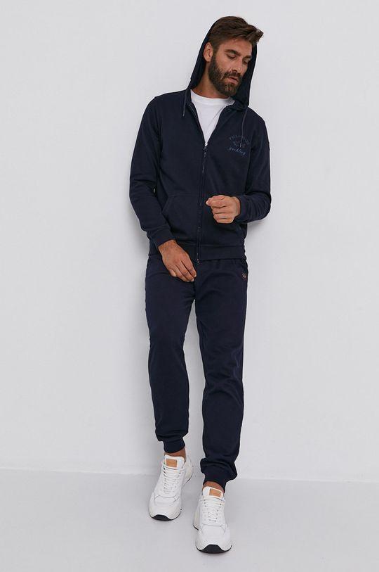 PAUL&SHARK - Kalhoty námořnická modř