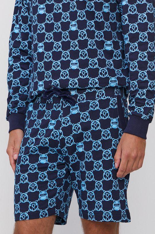 niebieski Moschino Underwear - Szorty Męski