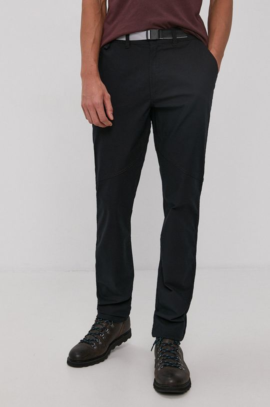 czarny Columbia - Spodnie Męski