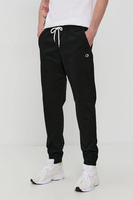 negru Champion - Pantaloni De bărbați