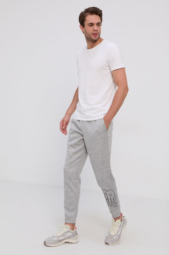 New Balance - Nohavice sivá