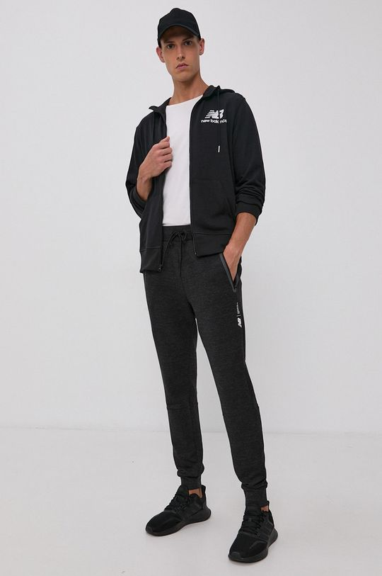 New Balance - Spodnie czarny