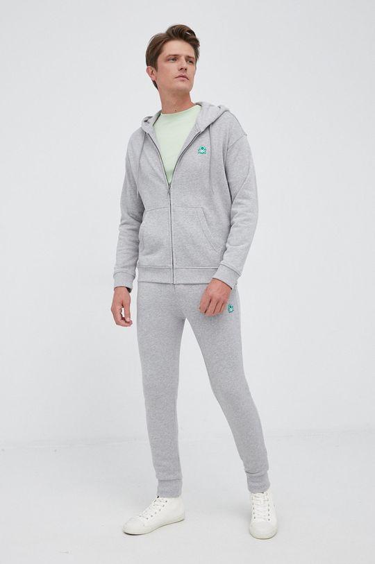 United Colors of Benetton - Spodnie szary