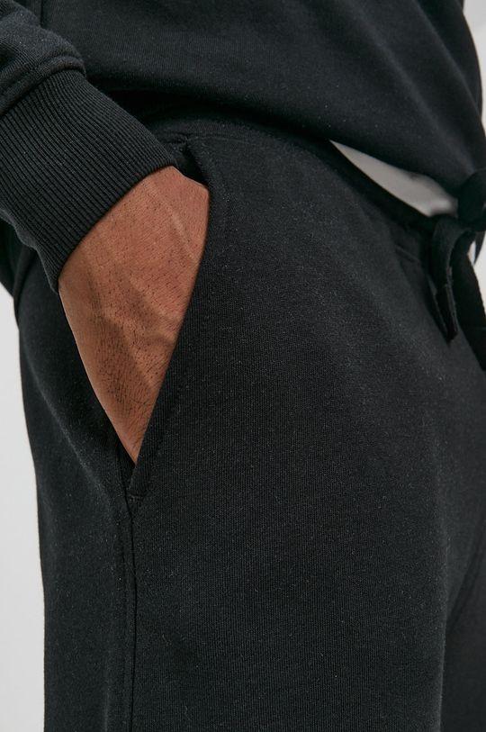 czarny Resteröds - Spodnie