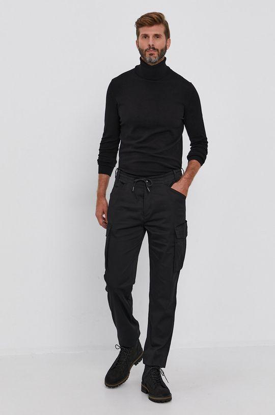 Sisley - Spodnie czarny