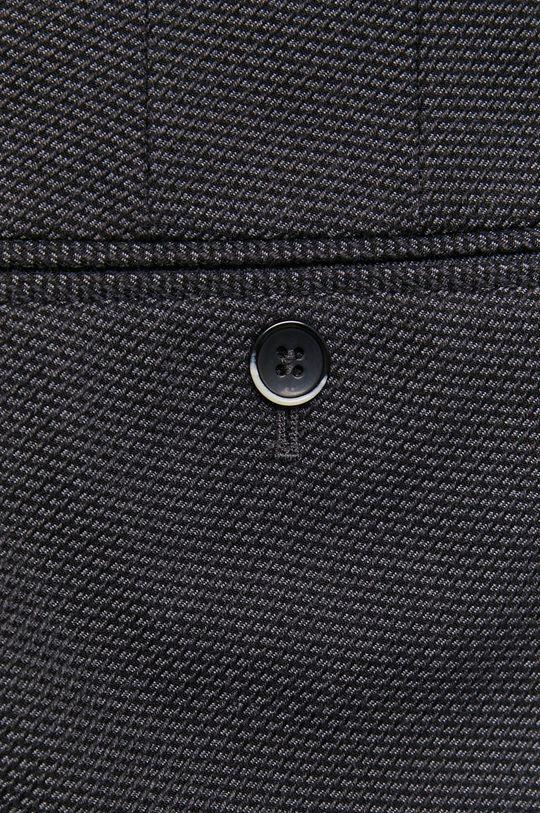 granatowy Sisley - Spodnie