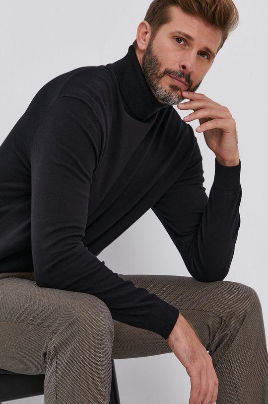 Sisley - Spodnie 65 % Poliester, 6 % Wełna, 29 % Wiskoza