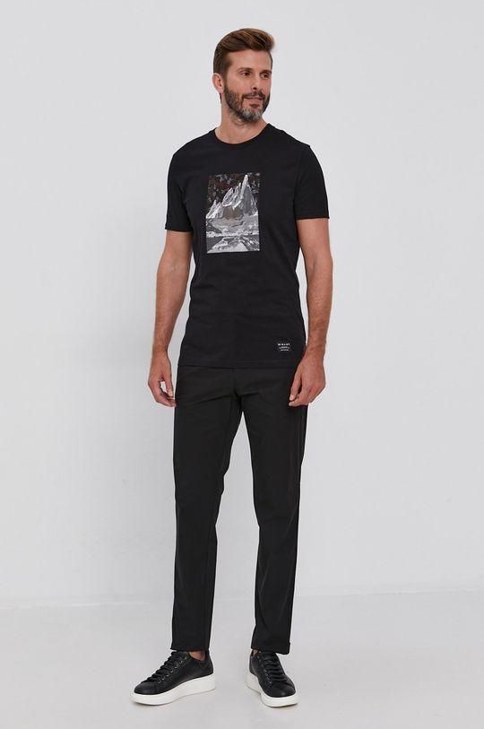 Sisley - Spodnie 100 % Poliester