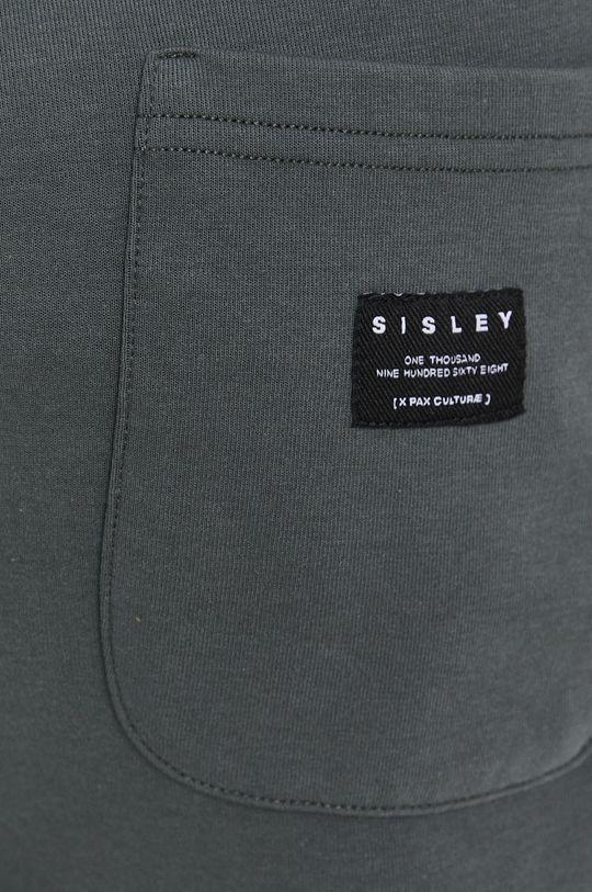 zielony Sisley - Spodnie