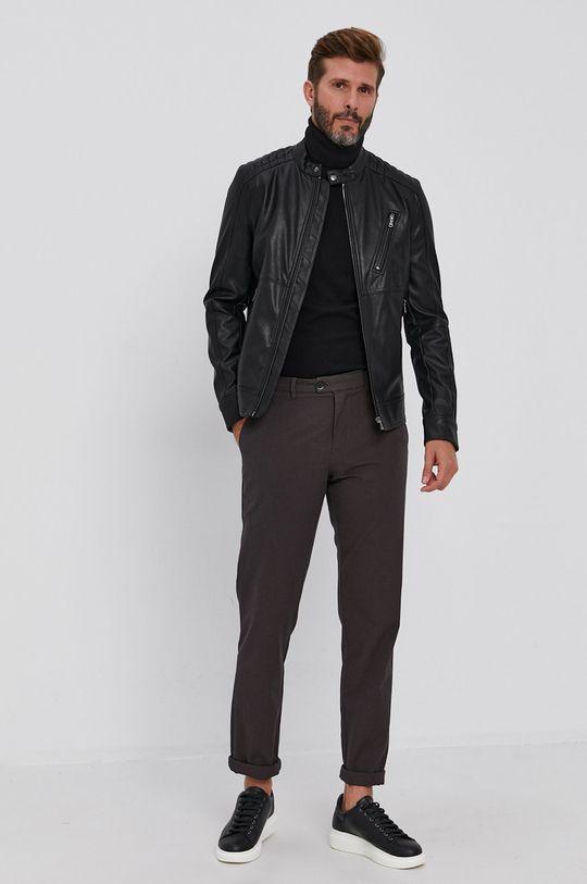 Sisley - Spodnie brązowy