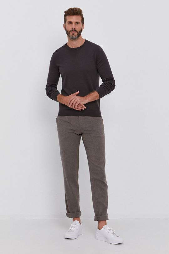 Sisley - Spodnie beżowy