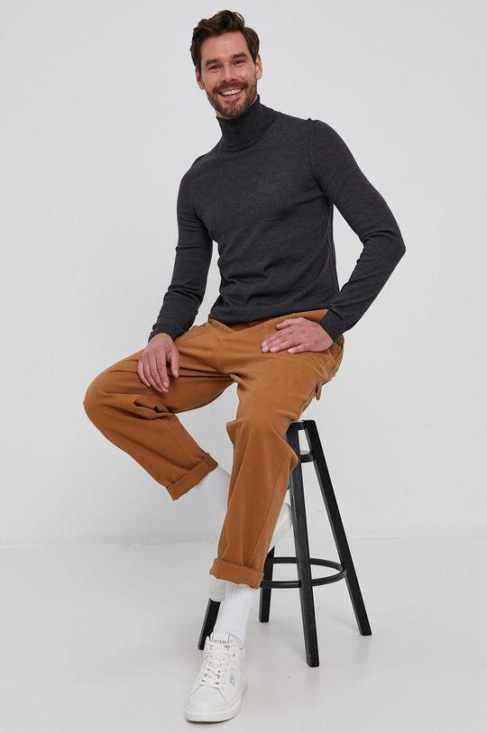 Liu Jo - Spodnie złoty brąz