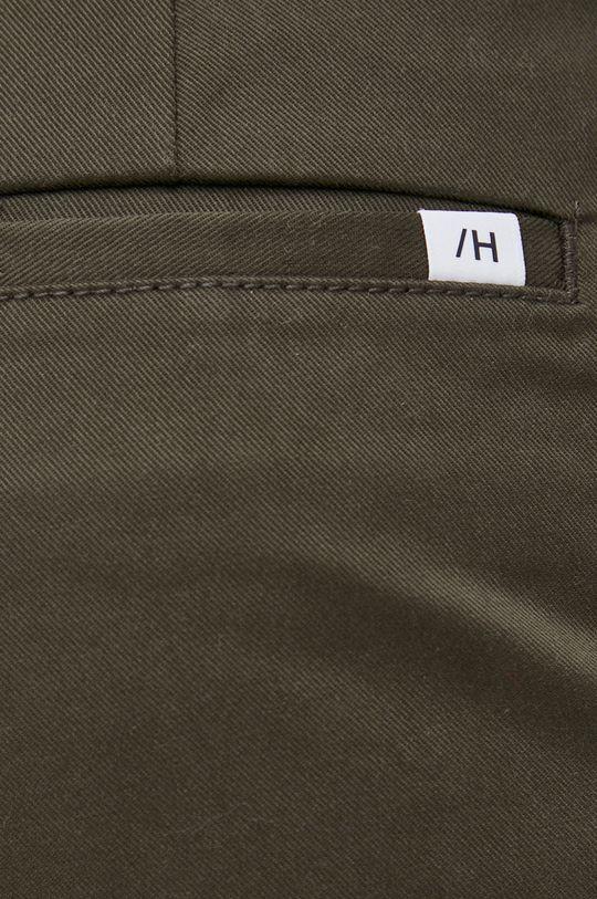 zielony Selected - Spodnie