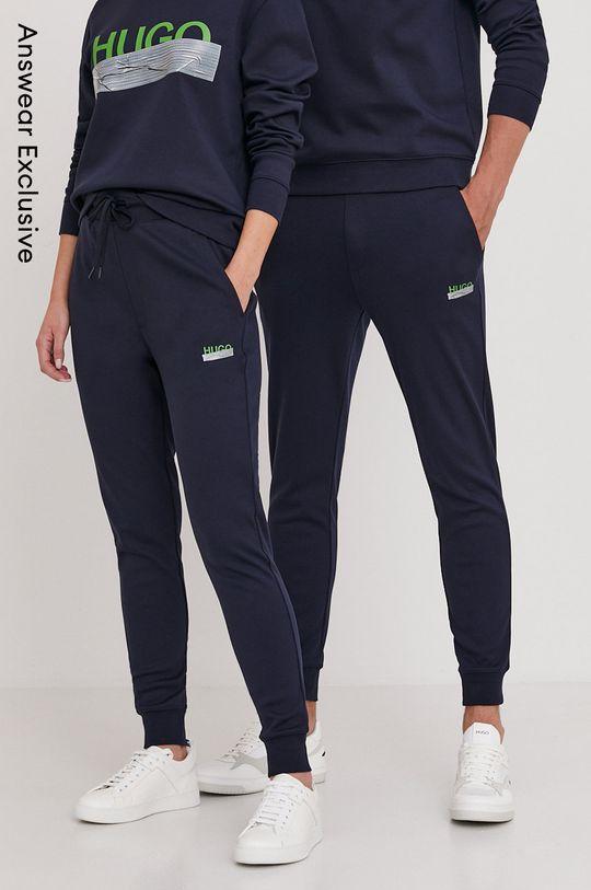 bleumarin Hugo - Pantaloni din colectia aniversara Unisex