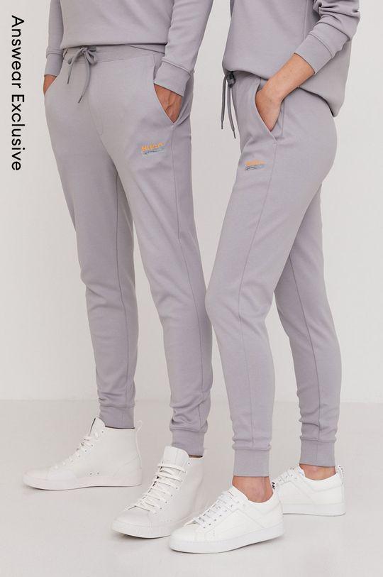 sivá Hugo - Nohavice z narodeninovej kolekcie Unisex