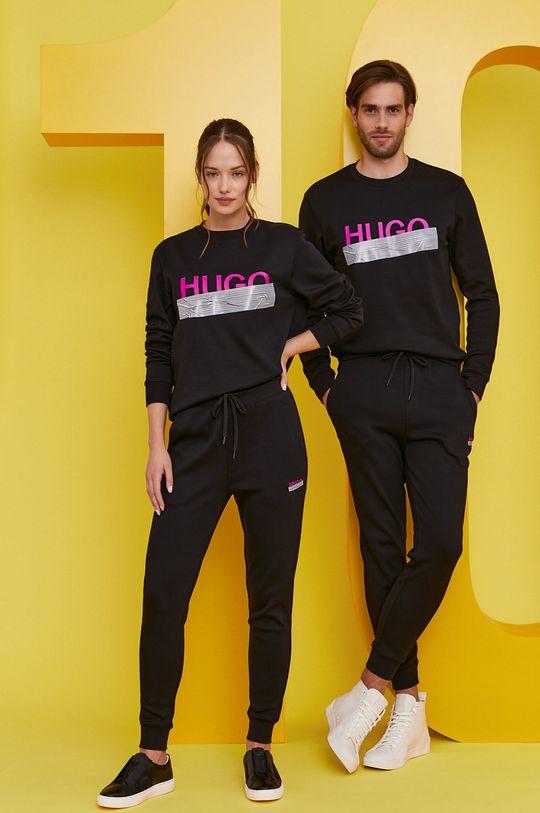 Hugo - Spodnie z kolekcji urodzinowej czarny
