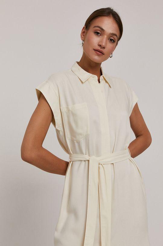 smetanová Vero Moda - Šaty