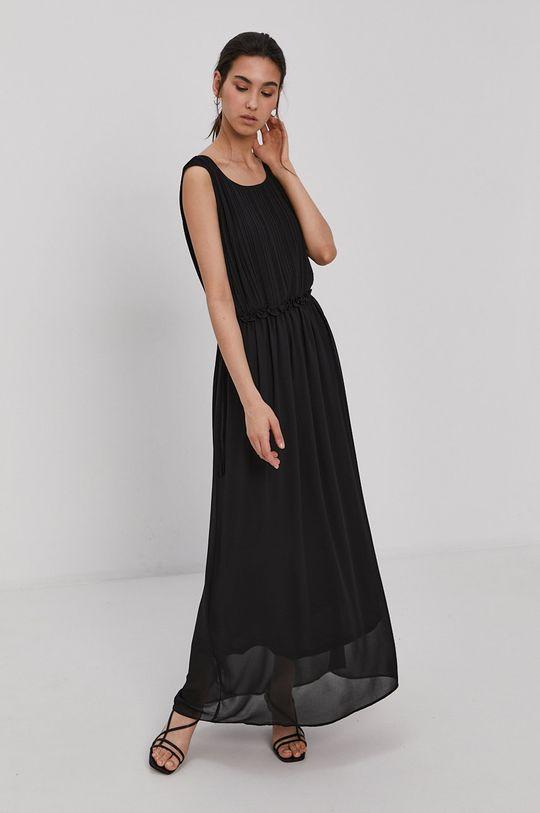 czarny Jacqueline de Yong - Sukienka Damski
