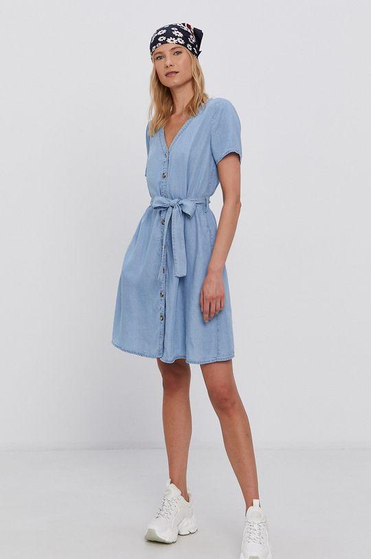 Vila - Šaty modrá