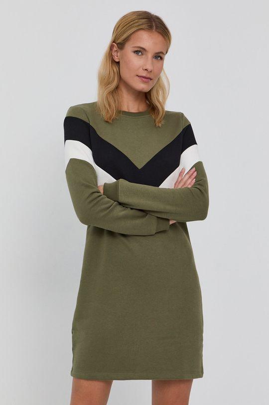 zielony Only - Sukienka Damski
