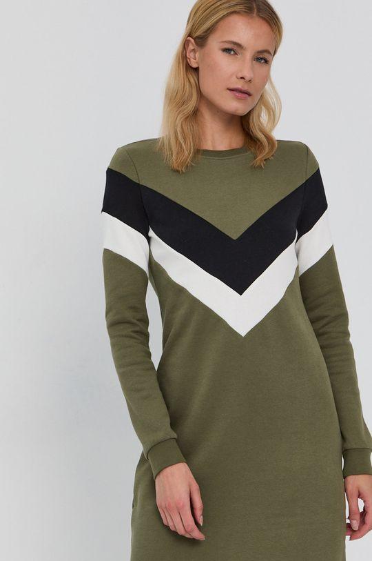 zielony Only - Sukienka