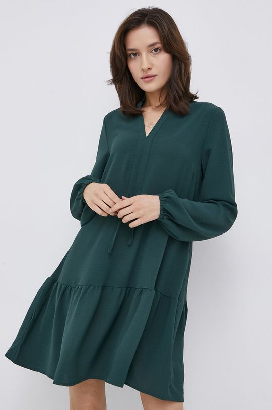 stalowy zielony Vila - Sukienka Damski