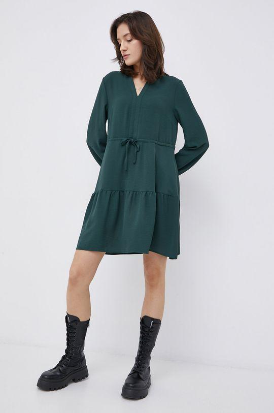 Vila - Sukienka stalowy zielony