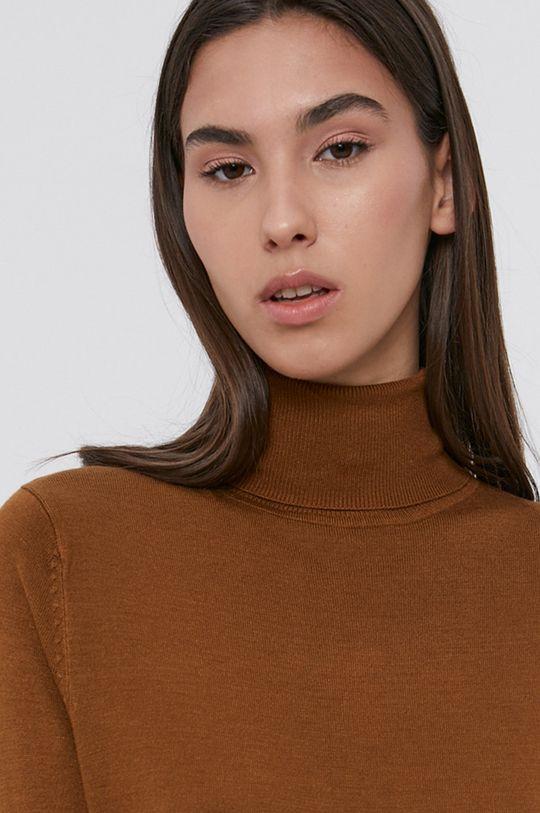 brązowy Vila - Sukienka