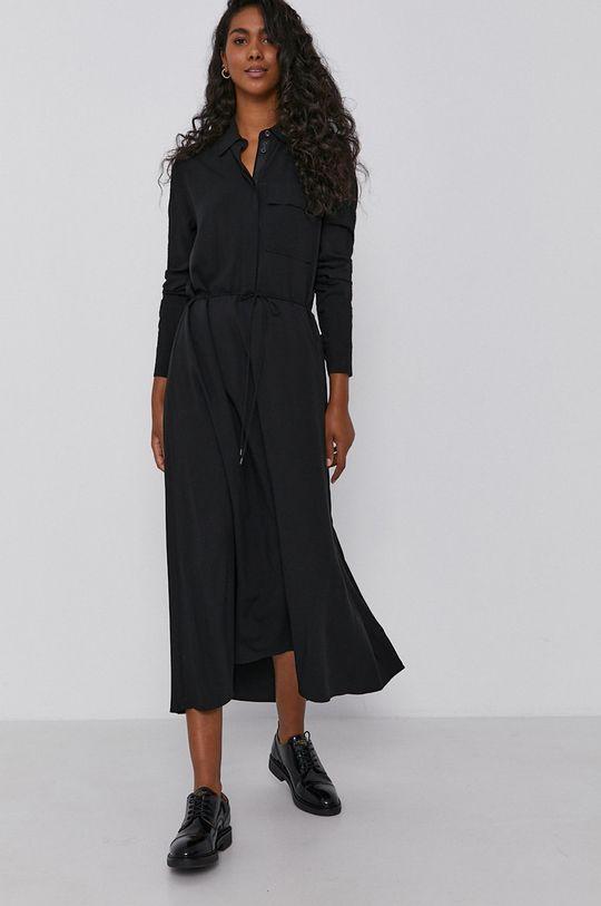 Calvin Klein - Sukienka czarny