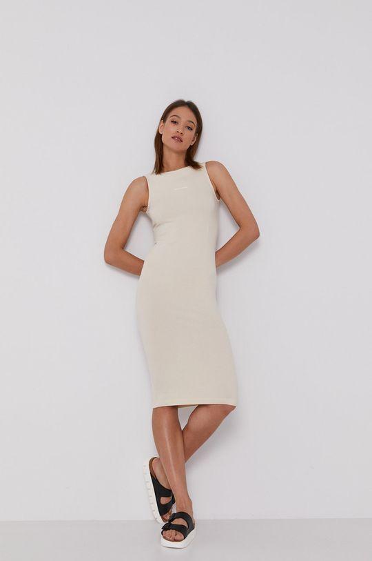 kremowy Calvin Klein Jeans - Sukienka Damski