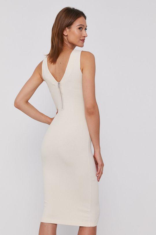 Calvin Klein Jeans - Sukienka 5 % Elastan, 95 % Wiskoza