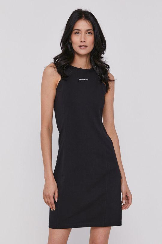 černá Calvin Klein Jeans - Šaty Dámský
