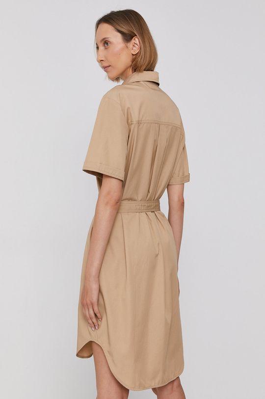 Calvin Klein Jeans - Sukienka 50 % Bawełna, 50 % Lyocell