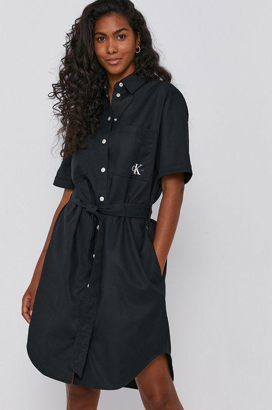 czarny Calvin Klein Jeans - Sukienka Damski