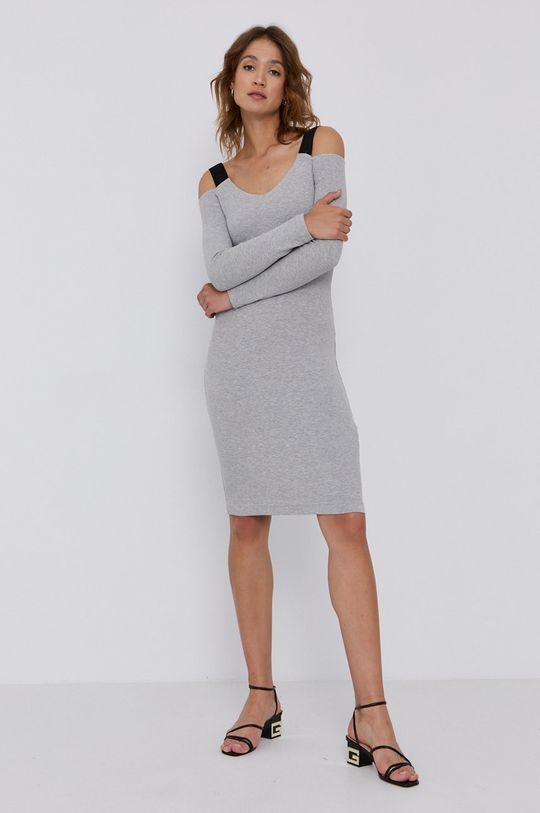 Guess - Sukienka jasny szary