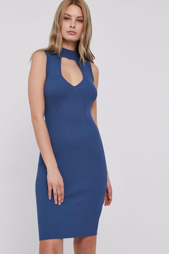 Guess - Sukienka niebieski