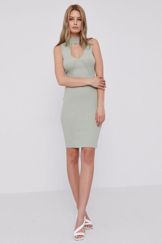 Guess - Šaty svetlozelená