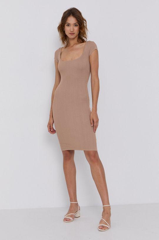 Guess - Sukienka piaskowy