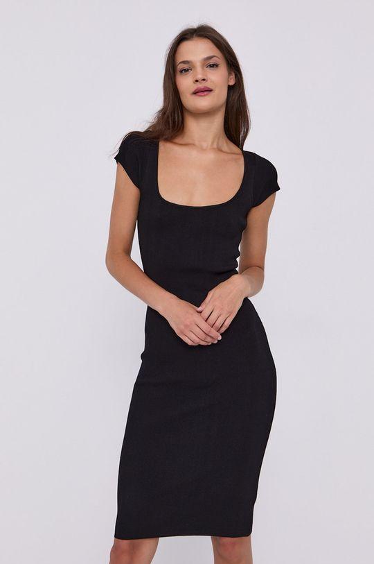 černá Guess - Šaty Dámský