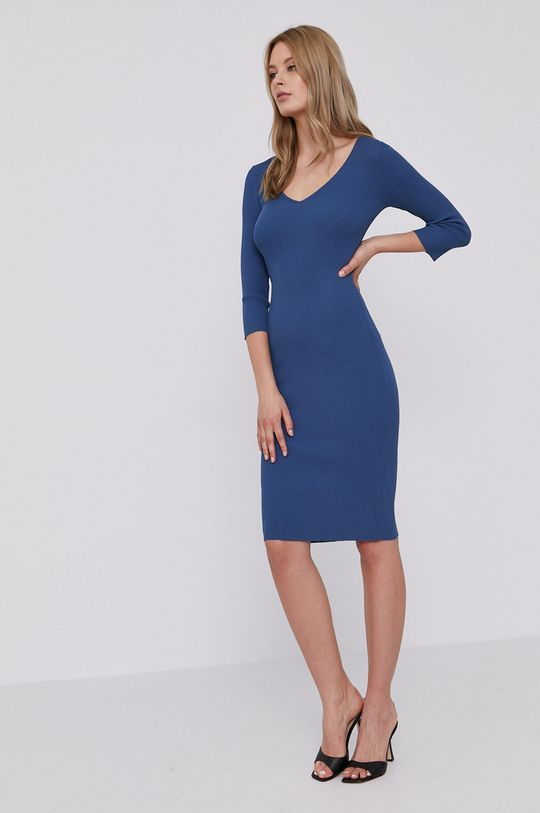 Guess - Šaty modrá