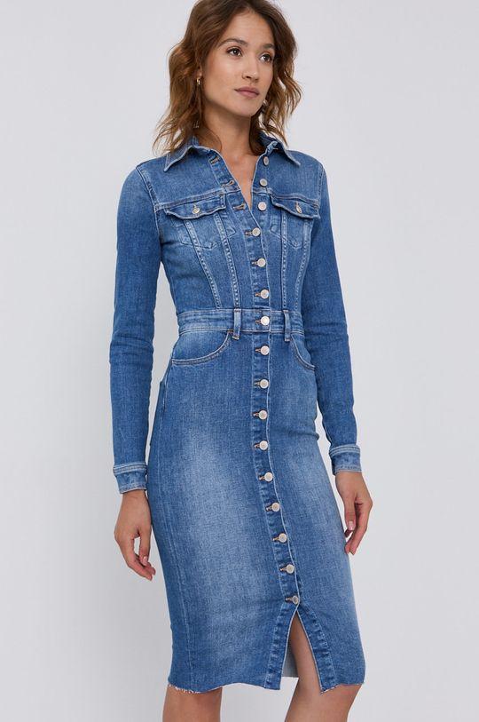 niebieski Guess - Sukienka jeansowa Damski