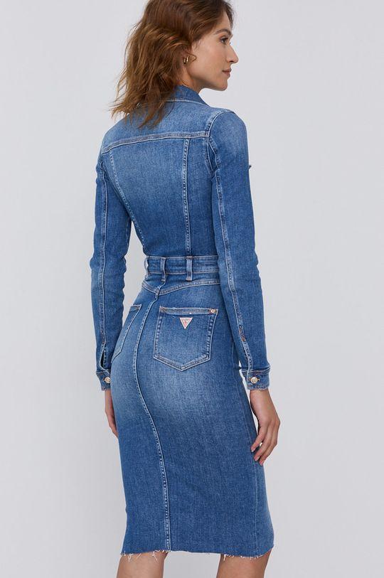 Guess - Sukienka jeansowa 99 % Bawełna, 1 % Elastan