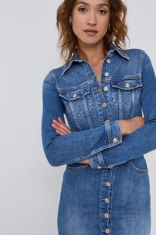 niebieski Guess - Sukienka jeansowa