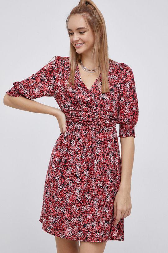 ostrá červená Vero Moda - Šaty