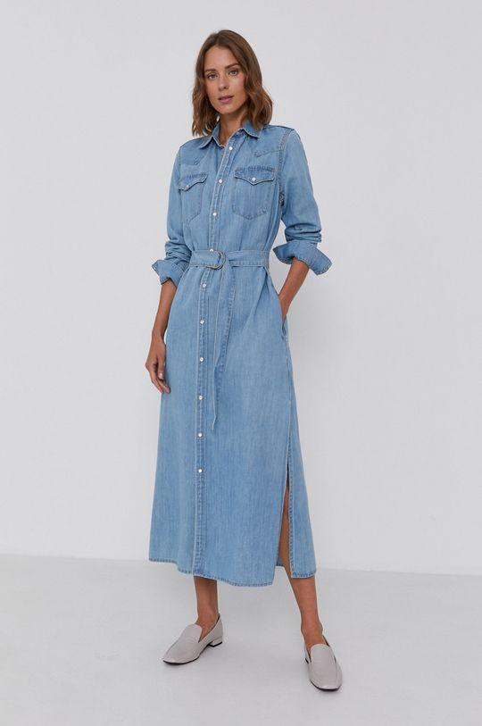 niebieski Polo Ralph Lauren - Sukienka jeansowa Damski