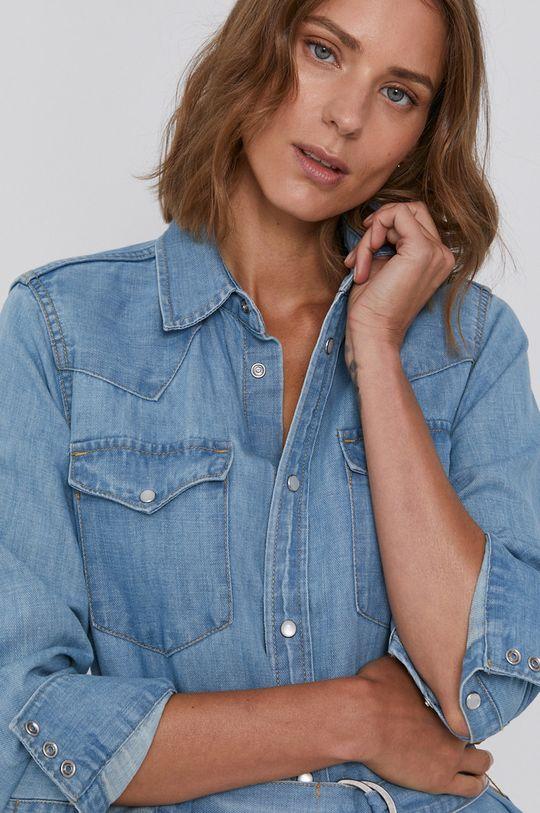 niebieski Polo Ralph Lauren - Sukienka jeansowa