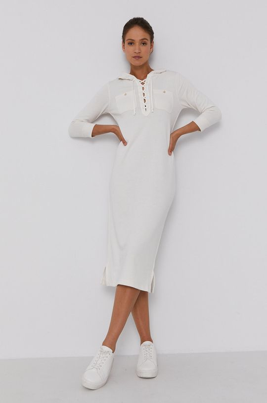 bílá Polo Ralph Lauren - Šaty Dámský