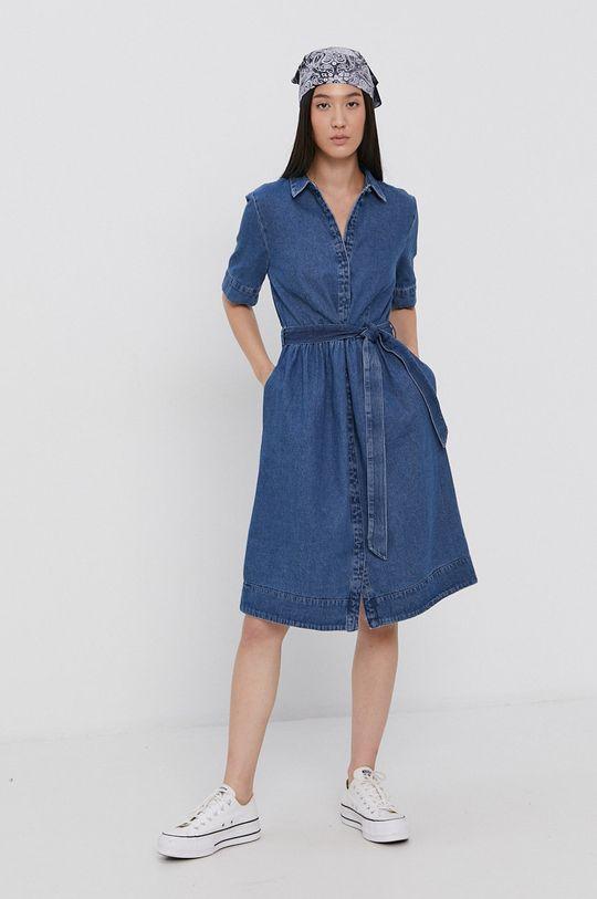 niebieski Jacqueline de Yong - Sukienka jeansowa Damski