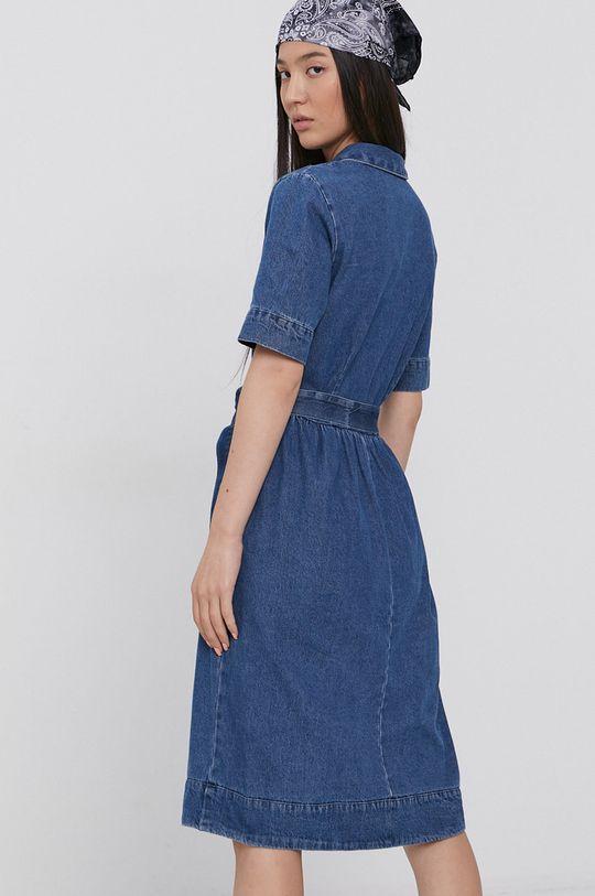 Jacqueline de Yong - Sukienka jeansowa 100 % Bawełna